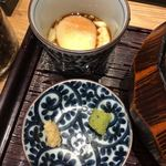 九州料理 居酒屋かてて - 温泉たまごと、ワサビ、生姜