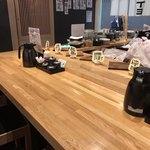 九州料理 居酒屋かてて - カウンター席