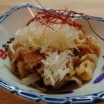 大衆割烹 藤八 - 鶏皮ポン酢