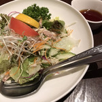 ドンシュー - 蒸し鶏のポン酢サラダ(ファミリーコース)