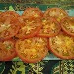 セイロンカリー - トマトサラダ