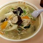古久家 - 湯麺:790円