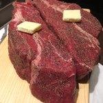 お好み焼本舗 - 料理写真:オーストラリア産、熟成肉塊400グラム×2