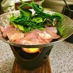 あらかると - すき鍋   鶏すきの出汁が甘辛く抜群です(^。^)