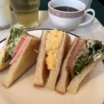 和伊んの杜  - サンドイッチ
