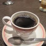 牛王 - 最後はコーヒーをいただいてこの日の夕食会はお開きになりました。