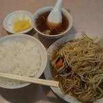 一番軒 - 料理写真:野菜炒めライス