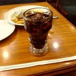 レストランあら玉 - ドリンク写真:食後のアイスコーヒー