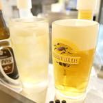 立呑み晩杯屋 - ホッピーとビール