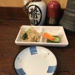 和食 かとう - 金目鯛西京焼御膳@2500円。小鉢。