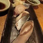 築地日本海 - 炙り三昧