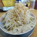 麺屋十郎兵衛 盛岡南店 - 煮干十郎(汁なし・全部増し)