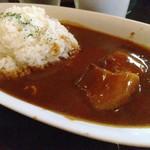 93775765 - 豚肉美味しい甘めのカレー。