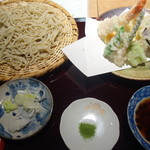 そば季菜 はや川 - 料理写真:天せいろ