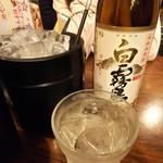 とりビアー - 白霧島ボトル