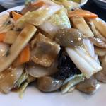 台湾料理 八福 - 味は普通ですね( ̄▽ ̄) 消費税込みにしましょう!