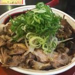 新福菜館 - チャーシュー麺並