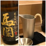 鮨 そえ島 - 馬関(下関)・・最後に日本酒らしい旨みが広がります。