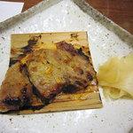 仙石原品の木一の湯 - 一の湯特製漬豚の杉板焼き