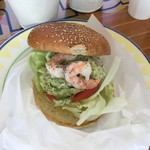 Cafe&Hamburger Ra-maru - アボカド&シュリンプ