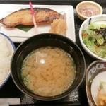 魚久 イートイン あじみせ - ぎんだら京粕漬定食