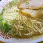 西谷家 - 超濃厚スープ。思いっきりいただきました。