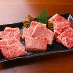 肉匠綾商店 - 料理写真:本日の希少部位三種盛