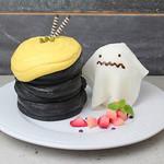 ELK NEW YORK BRUNCH - 料理写真:ハロウィンゴーストホラーナイトパンケーキ
