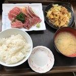93797610 - 長崎産本まぐろ頭天肉4種盛り600円