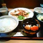 料理つしま - 真鱈塩焼定食