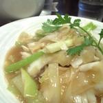 中国酒家 大三元 - イカの炒め物