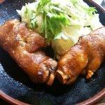 やきとり炭屋 - 料理写真:豚足