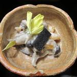 九つ井 - 「柿と茸の白和え」