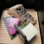 九つ井 - 「さわら柚庵焼き」など
