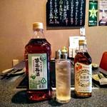 もんじゃ焼きお好み焼き鉄板焼き 一(いち) - 紀州産南高梅の魅力を手軽に楽しめるスタンダードな梅酒。