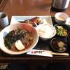かまど - 料理写真:1000円ランチ(メインは塩鯖、蕎麦付)