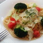 メイ カフェ - 国分寺野菜の ペペロンチーノ(季節メニュー)