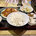 上海料理 随苑 - エビチリ定食
