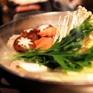 お鍋が美味しい季節がやってきました!お鍋コース6,800円~