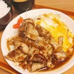 ぶたたま食堂 - トンちゃん焼き 大盛