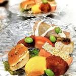 お料理 御厨 - おまかせ料理 鮮魚の低温調理サラダ仕立て