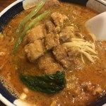 支那麺 はしご - う〜ん。食欲をそそる色合い