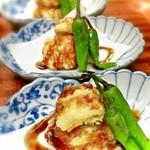 お料理 御厨 - おまかせ料理 鱧の天麩羅 山椒甘ダレ