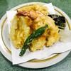 ハトヤ - 料理写真:天ぷら