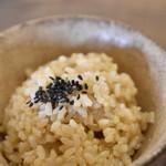 PUBLIC KITCHEN cafe - 玄米ごはん