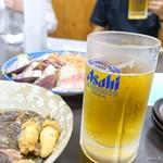 黒潮丸 - 2018年7月 この大きさで普通の生ビールです(^^)/