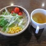 いわたき - サラダ&スープ