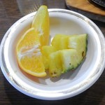いわたき - デザートのフルーツ