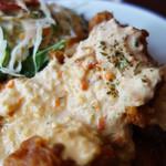 タカチホキッチン - チキン南蛮定食のチキンは、胸肉・もも肉・胸ももミックスの中から選べます。