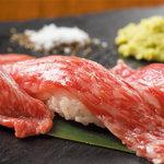 焼肉 韓国料理 瑞英 - 期間、数量限定炙り肉寿司